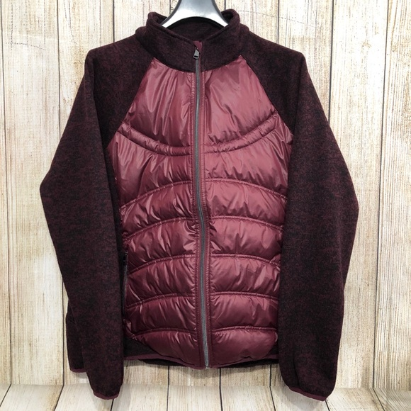 London Fog Jackets & Blazers - 🍑SOLD London Fog Puffer Sweater Jacket Quilted